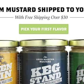 Green Mountain is listed (or ranked) 14 on the list The Best Whole Grain Mustard Brands