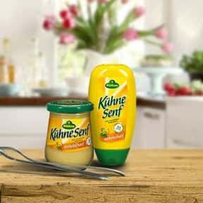 Kuehne is listed (or ranked) 11 on the list The Best Whole Grain Mustard Brands