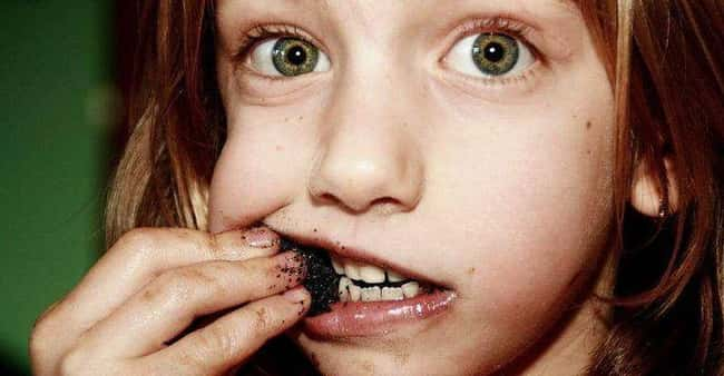 Pica is listed (or ranked) 13 on the list Insane Diseases That Science Never Explained