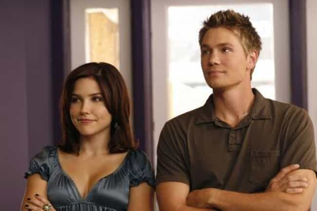 Chad Michael Murray and Sophia... is listed (or ranked) 3 on the list Actors Whose Divorces & Breakups Affected Storylines