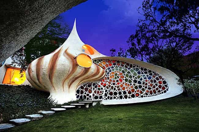 The Nautilus House in Naucalpa... is listed (or ranked) 4 on the list Weird and Wacky Building Shapes Around the World