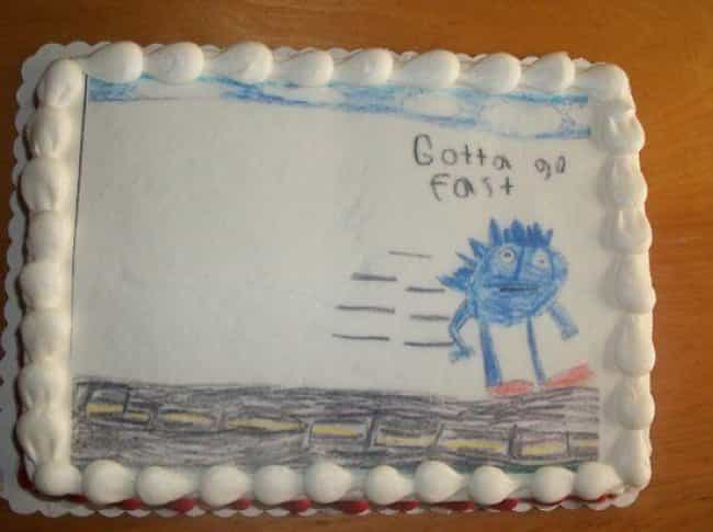 Who Doesn't Remember Sonic... is listed (or ranked) 3 on the list 21 Video Game Cakes That Will Give You Game Over