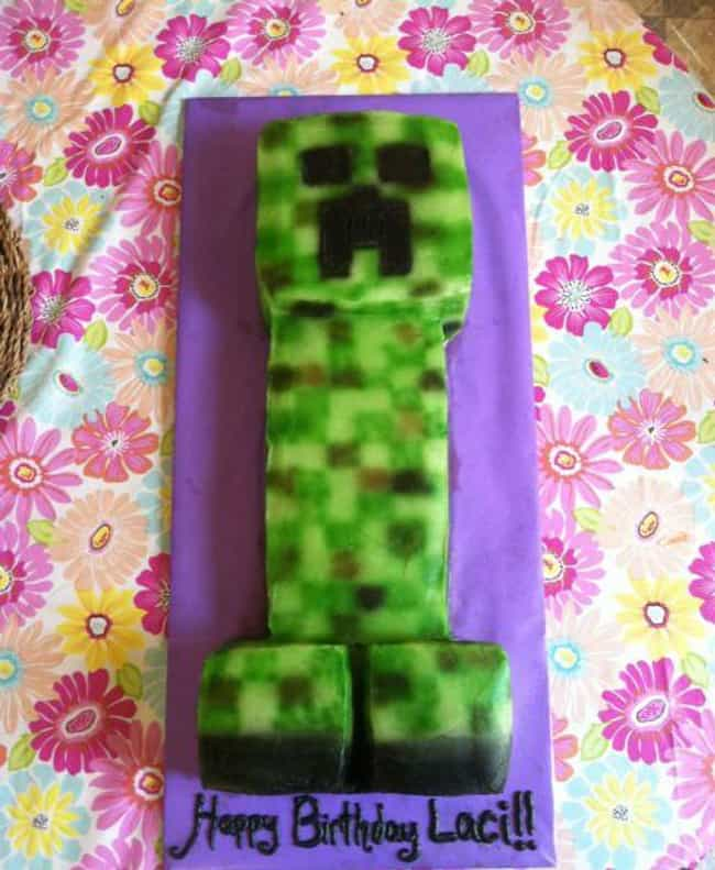 Creeper Cake or Penis Cake? is listed (or ranked) 4 on the list 21 Video Game Cakes That Will Give You Game Over