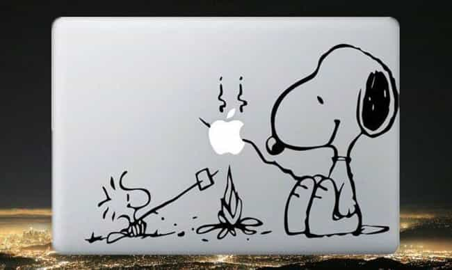 The Original Snoop Dog is listed (or ranked) 1 on the list Hilarious Laptop Stickers You'll Want on Your Own Computer