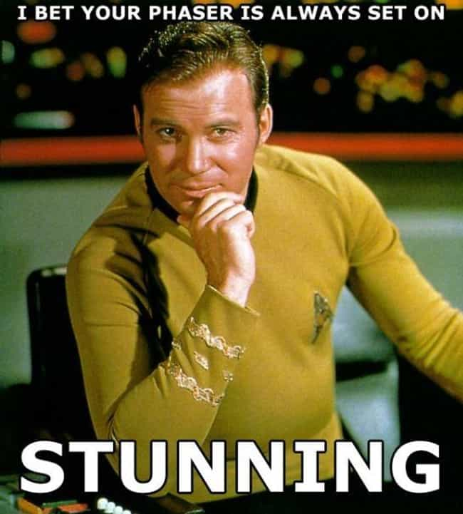 The Final Frontier is listed (or ranked) 4 on the list Funny Pick Up Line Memes You Should Try