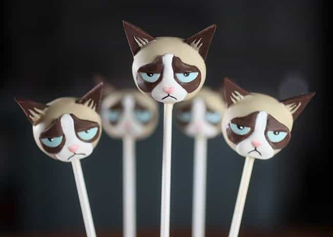 These Guys Were Cake Pops Once... is listed (or ranked) 3 on the list 34 Cake Pops That Are Too Funny to Eat
