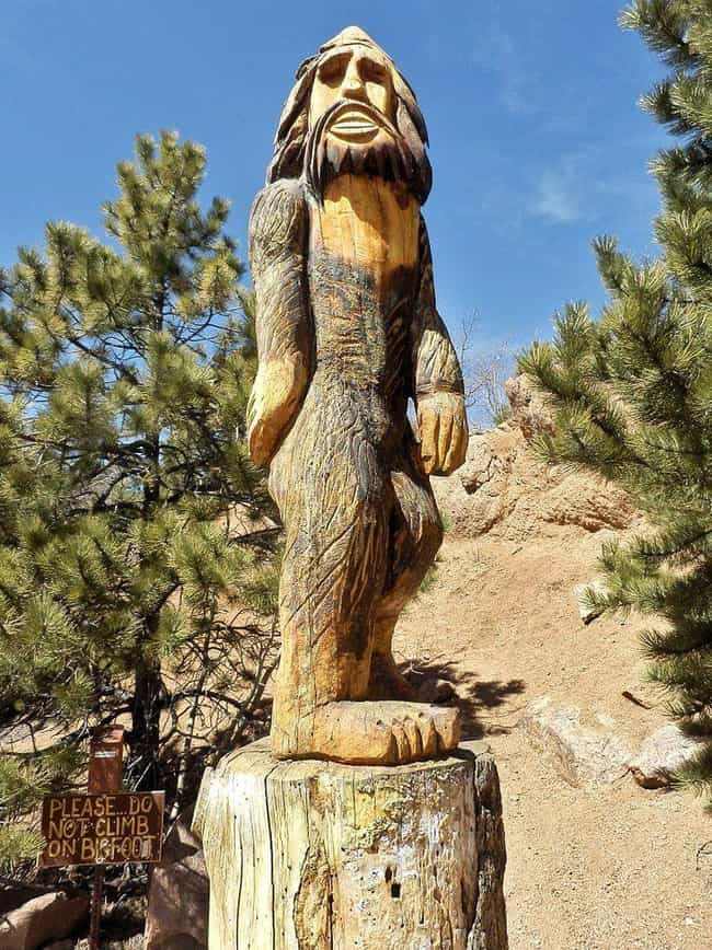 Bigfoot Calls Crater Lak... is listed (or ranked) 5 on the list Creepy Stories About Crater Lake