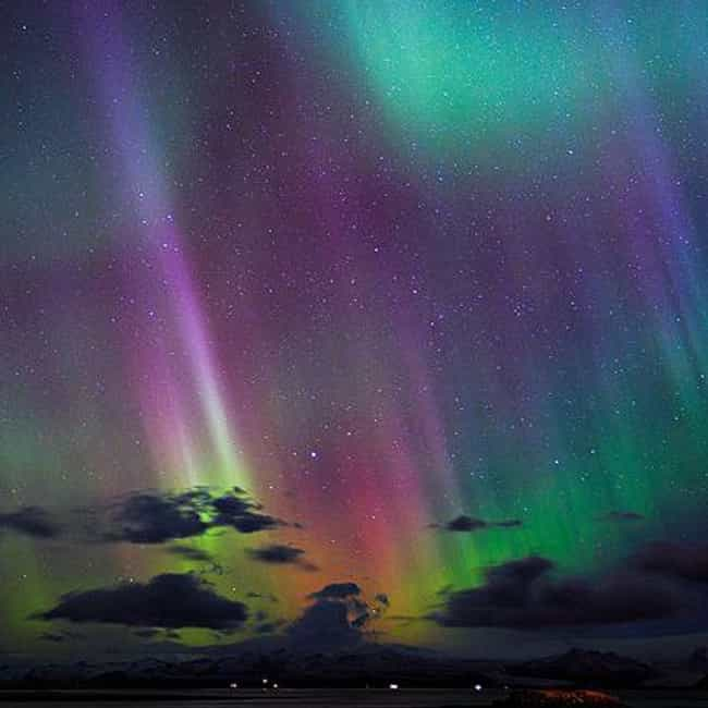 Different Elements Make ... is listed (or ranked) 3 on the list 18 Amazing Things You Didn't Know About The Northern Lights (Aurora Borealis)