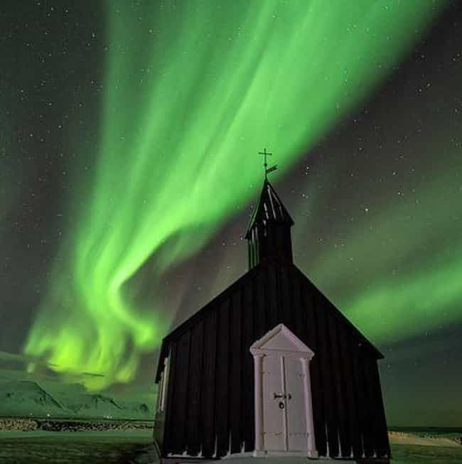 Green Is the Most Common... is listed (or ranked) 4 on the list 18 Amazing Things You Didn't Know About The Northern Lights (Aurora Borealis)