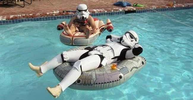 The Dark Side of the Pool is listed (or ranked) 2 on the list Funny Swimming Pool Photos to Get You Ready for Summer