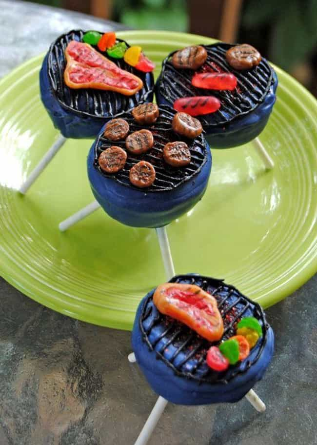 Cake Pops for Bros is listed (or ranked) 2 on the list 34 Cake Pops That Are Too Funny to Eat