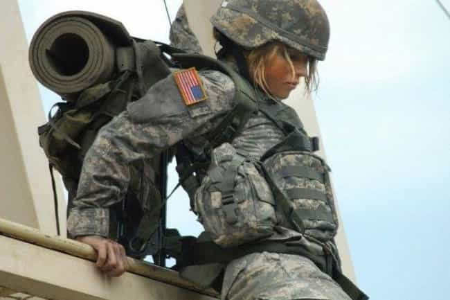 Wow. Just Wow. is listed (or ranked) 2 on the list The Hottest Pictures of Female Soldiers