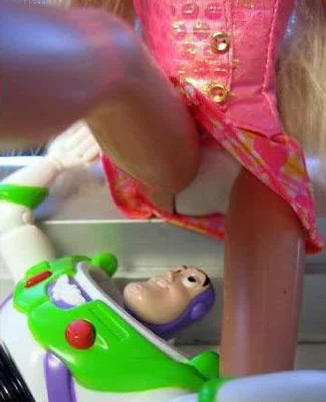 To Infinity and Beyond is listed (or ranked) 2 on the list 25 Hilarious Photos of Barbie Gone Wild