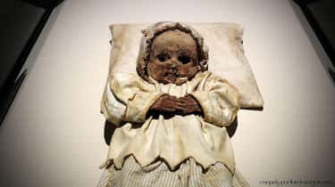 Mummified Babies is listed (or ranked) 1 on the list 15 Horrifying Things Found Inside Walls