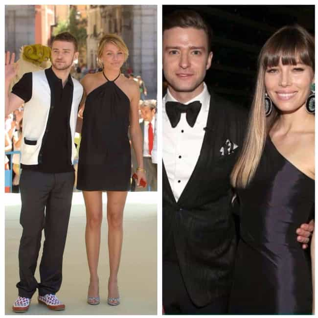 Justin Timberlake is listed (or ranked) 1 on the list 16 Celebrities Who Definitely Have a Type