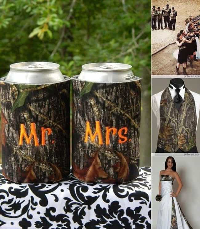 You May Now Kiss the Bri... is listed (or ranked) 4 on the list The Most Cringeworthy Wedding Decoration Ideas From Pinterest