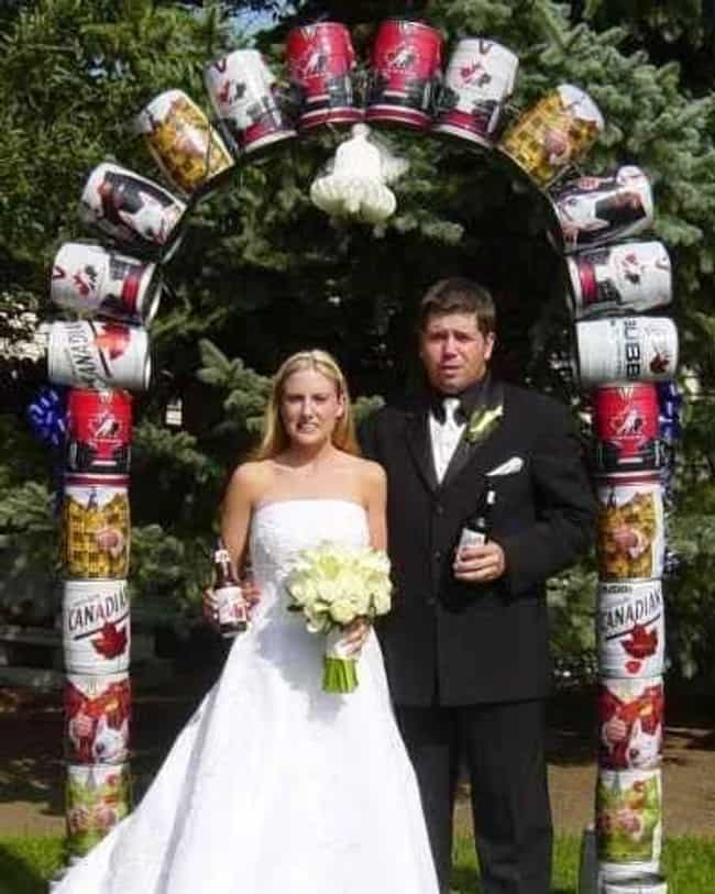 This Beautiful Redneck Wedding... is listed (or ranked) 2 on the list The Dumbest Wedding Decoration Ideas from Pinterest