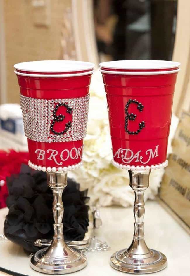 When Frat Boy Meets Soro... is listed (or ranked) 1 on the list The Most Cringeworthy Wedding Decoration Ideas From Pinterest