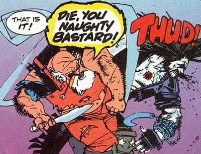 Santa vs. Lobo is listed (or ranked) 4 on the list 16 Times Santa Claus Showed Up in Comic Books
