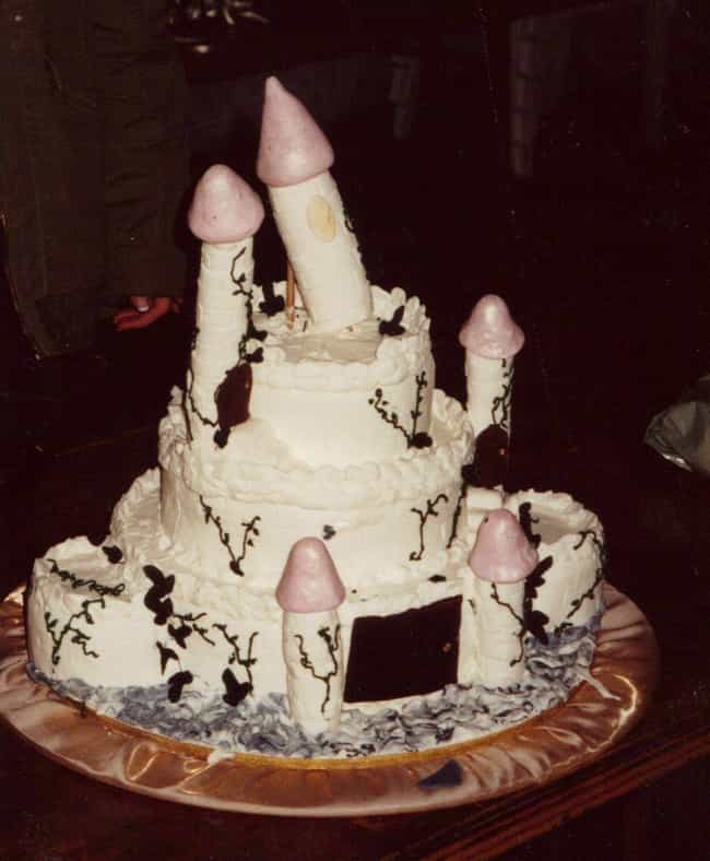 The Most Phallic Fairy Tale Ev... is listed (or ranked) 3 on the list 24 Nerdy Cakes That Were Total Fails