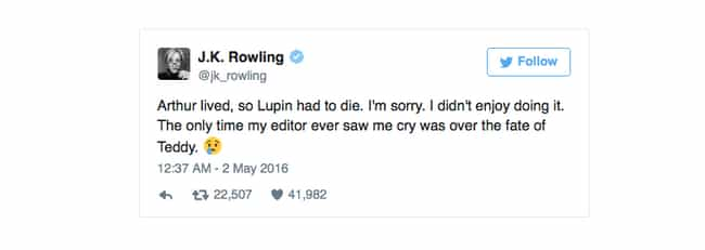 25 of J.K. Rowling's Post-Books Reveals About Harry Potter