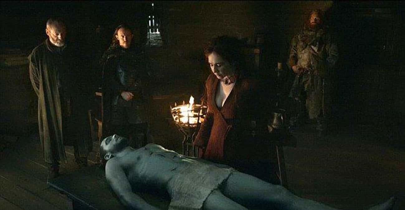 Did Melisandre Break Jon When  is listed (or ranked) 2 on the list Fan Theories About Melisandre