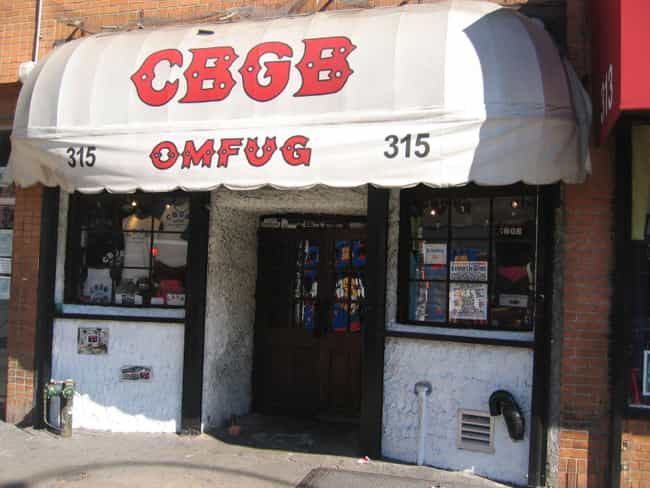 CBGB Was Too Broke to Pay Roya... is listed (or ranked) 3 on the list Insane Things That Have Happened at CBGB