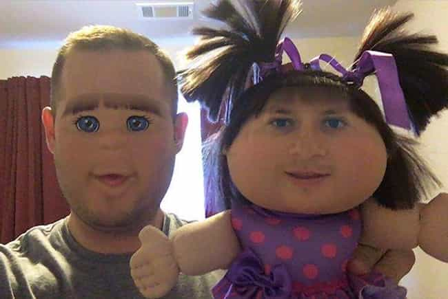 Cabbage Patch Nightmares... is listed (or ranked) 3 on the list Funny Face Swaps Gone Horribly Wrong