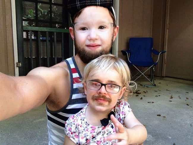 The Most Unfortunate Fam... is listed (or ranked) 4 on the list Funny Face Swaps Gone Horribly Wrong