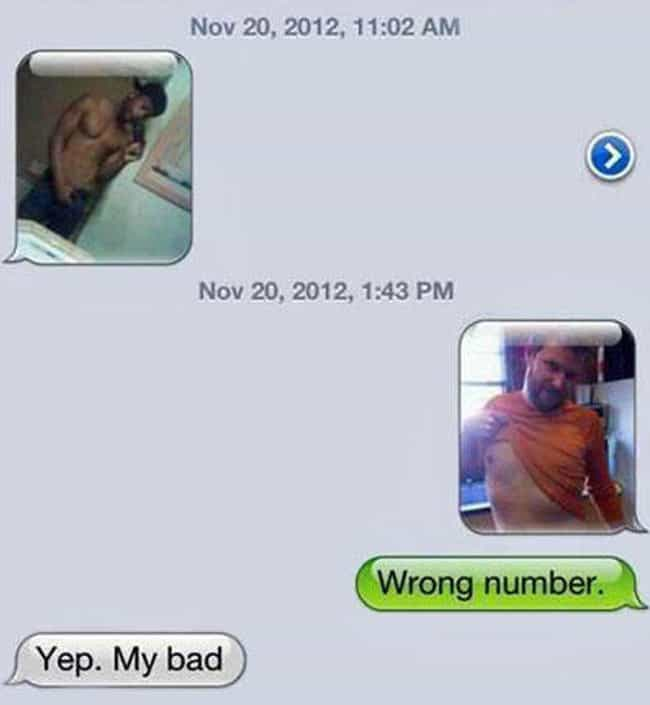 Best Wrong Number Response Eve... is listed (or ranked) 4 on the list Booty Call Texts That Got Rejected in the Best Way