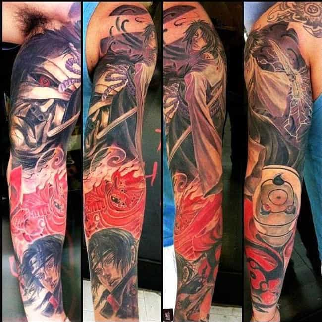 Naruto Rogue's Gallery ... is listed (or ranked) 2 on the list The 20+ Coolest Naruto Tattoos Ever Inked