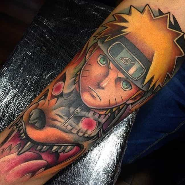 Naruto Showing His Inner... is listed (or ranked) 1 on the list The 20+ Coolest Naruto Tattoos Ever Inked