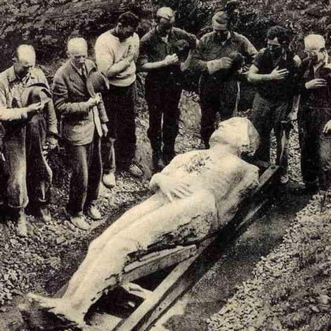 New York: Cardiff Giant is listed (or ranked) 32 on the list Craziest Humanoid Cryptids by State