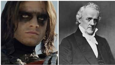 Bucky Barnes Is Named After a President