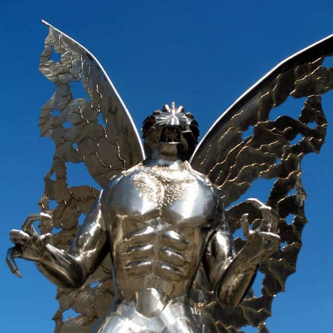 Virginia: Mothman is listed (or ranked) 46 on the list Craziest Humanoid Cryptids by State