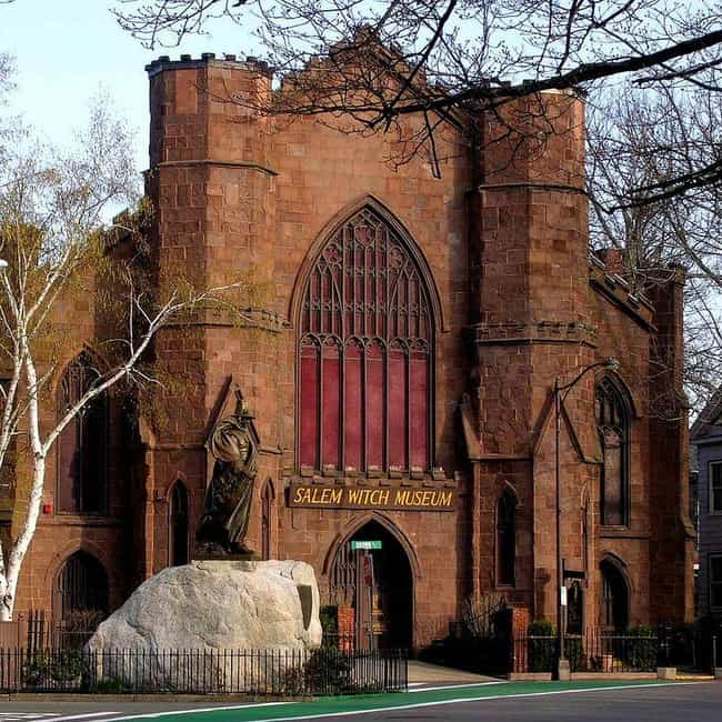 Salem Witch Museum is listed (or ranked) 1 on the list 13 Salem Witch Trial Landmarks Recommended by Locals