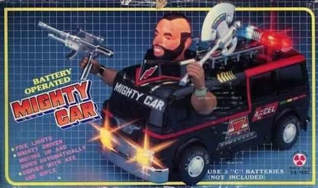 Mighty Car is listed (or ranked) 4 on the list 19 WTF Action Figures That Somehow Got Made