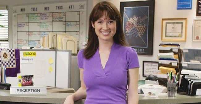 Erin Hannon Was Only Supposed ... is listed (or ranked) 3 on the list 20 Things You Didn't Know About Ellie Kemper