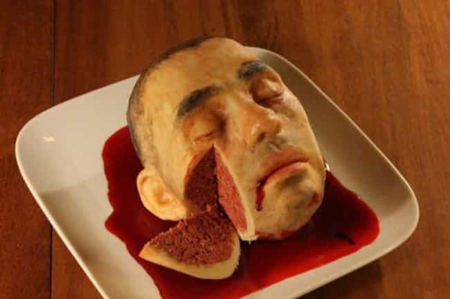 He Was Such a Sweet Guy is listed (or ranked) 3 on the list Horrifying and Morbid Cakes You Can't Look Away From