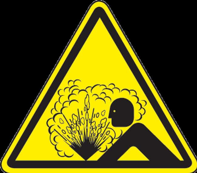 Warning: Contents Overly Sensi... is listed (or ranked) 4 on the list Most Disturbing Hazard Signs