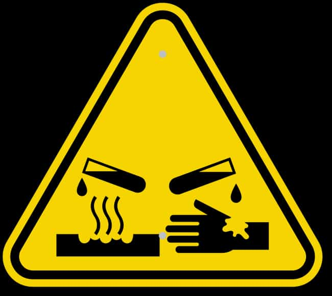 hazard signs for really dangerous things and what they mean