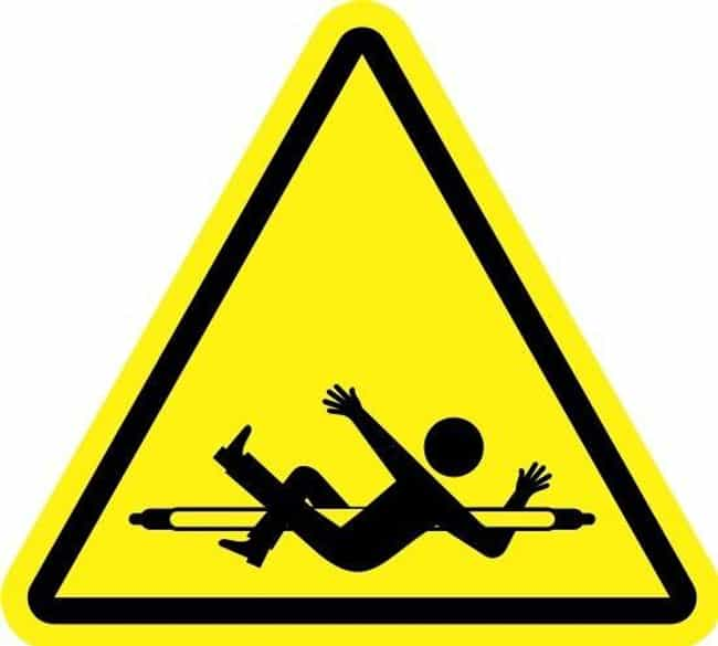 Warning: Now Entering Randomly... is listed (or ranked) 1 on the list Most Disturbing Hazard Signs