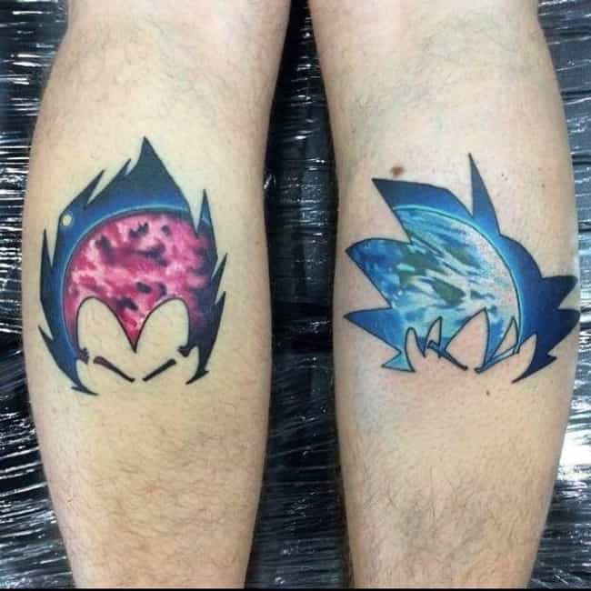 The Hair is all you need... is listed (or ranked) 4 on the list 22 Awesome Dragon Ball Z Tattoos For Serious Fans