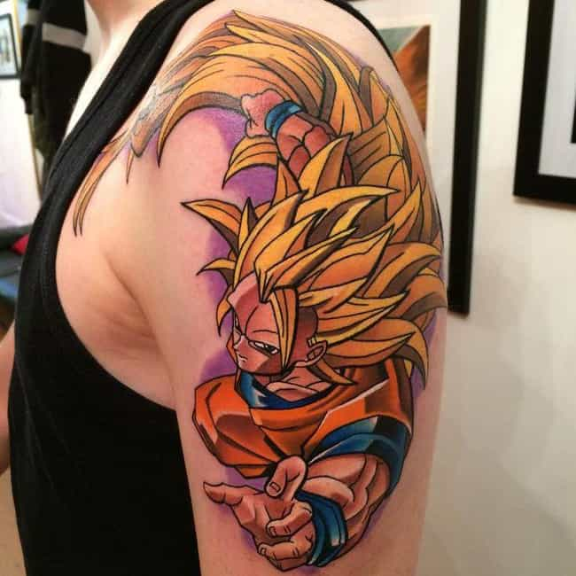 22 Awesome Dragon Ball Z Tattoos For Hardcore Fans