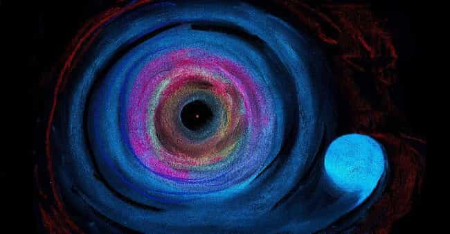 A Giant Black Hole Hurls... is listed (or ranked) 2 on the list Creepy Facts About Outer Space You Can't Unlearn