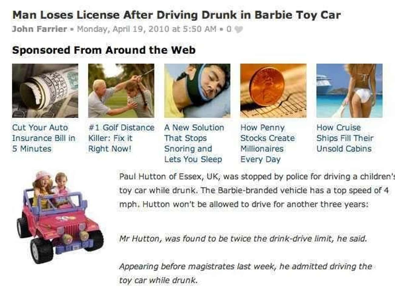 Dammit Ken, Get It Together! is listed (or ranked) 4 on the list 24 Drunk Headlines About People More Messed Up Than You