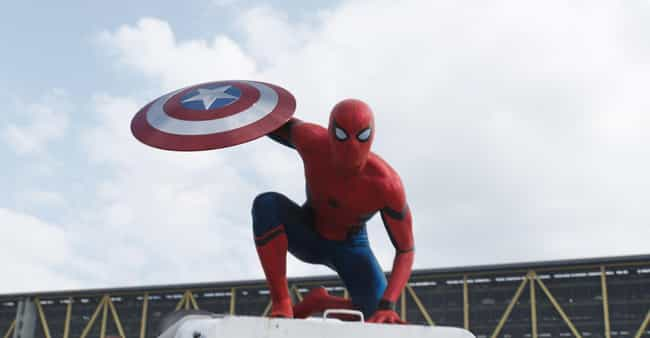 That Suit Doe is listed (or ranked) 3 on the list 10 Ways Captain America: Civil War Nails Spider-Man