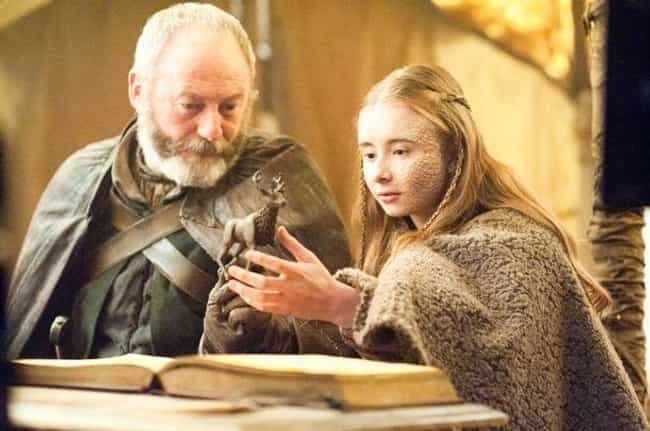 Is Davos Going to Murder Melis... is listed (or ranked) 4 on the list Things You Didn't Know About Davos Seaworth