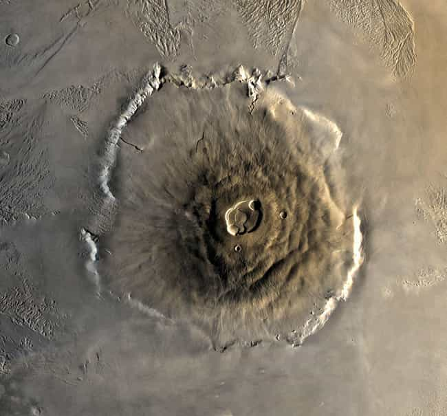 Sit on the Rim of Olympu... is listed (or ranked) 4 on the list The Best Vacation Spots In The Solar System