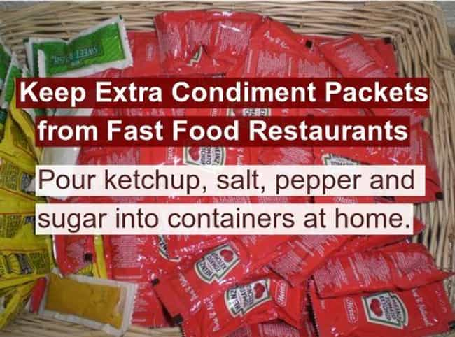 Hoard That Hot Sauce is listed (or ranked) 4 on the list 24 Food Hacks to Please Your Inner Fat Kid